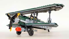 Blackburn Shark (1935-1945) (John C. Lamarck) Tags: lego plane aircraft biplane avion ww military kazi