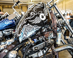 Slickschitz (shyfter) Tags: vintage iron hickory union moto motorcycle show kansas city missouri custom 2018