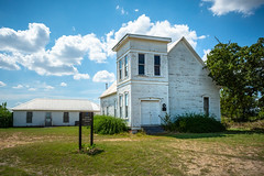 United Presbyterian Church - Sharp, Texas (lonestarbackroads) Tags: architecture belltower building christian church presbyterian structure texas tx unitedstates us