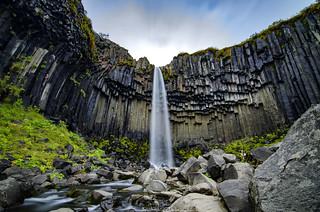 Black Falls   Skaftafell