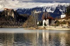 0829 Stroll Around Bled Lake (Hrvoje Simich - gaZZda) Tags: outdoors pond buildings clouds travel bled slovenia europe nikon nikond750 nikkor283003556 gazzda hrvojssimich