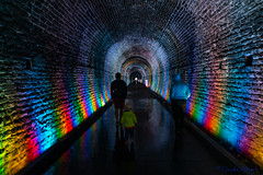 Brockville Railway Tunnel (claudeallaert) Tags: brockville ontario railwaytunnel lightshow damp tourist canada railroad tunnel ilce7m2
