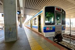 Okayama-Sta. JR-WEST. (takafumistyle) Tags: fujifilm xt1 fujinon xf1024mmf4 train 213series jrwest okayama 213系 jr西日本 宇野線 岡山駅 japan