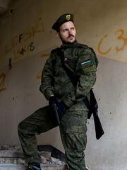 Tacticool Ivan (saromon1989) Tags: tacticool gun soldier military pistol ak74m dark ambient green digital flora