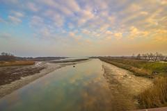 riflessi (paolotrapella) Tags: riflessi water acqua sky clouds nwn