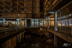It's Over #2 (TVZ Photography) Tags: hdr highdyanmicrange oceanview castletown isleofportland weymouth dorset southwest england derelict abandoned decay buildingsite architecture building construction night evening longexposure lowlight sonya7riii zeiss loxia 21mm