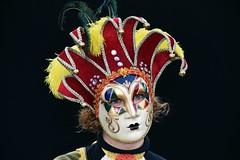 venetian masks portraits - 3 (fotomänni) Tags: masken masks venezianischerkarneval venezianisch venetiancarnival venetian venezianischemasken venetianmasks venezianischemesseludwigsburg portraits portrait portraitfotografie manfredweis