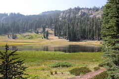 Cold Boiling Lake, from the trail (rozoneill) Tags: cold boiling lake lassen volcanic national park california hiking