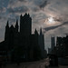 The Three Towers of Ghent at Sunrise