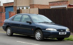 N84 GWR (Nivek.Old.Gold) Tags: 1995 ford mondeo 18 16v lx 5door