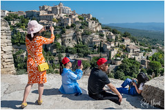 Greetings From Gordes (RudyMareelPhotography) Tags: europe france gordes greetings leleburon provence provencealpescôtedazur tourism flickrclickx vaucluse fr flickr ngc