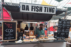 da fish ting (=Mirjam=) Tags: sonyrx100iii london greenwich fish food stalls market colour augustus 2018
