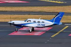 OK-PMB PA-46 Malibu Meridian (eigjb) Tags: dusseldorf international airport eddl okpmb piper malibu meridian pa46 turboprop bizprop aircraft airplane aeroplane plane spotting aviation germany 2018