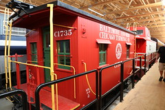Baltimore and Ohio Chicago Terminal Caboose (Ray Cunningham) Tags: monticello rail museum railway trains illinois