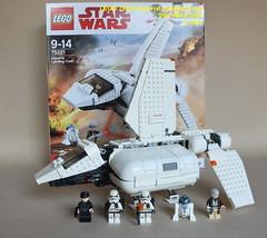 Star Wars LEGO 75221 Imperial Landing Craft (KatanaZ) Tags: starwars lego75221 imperiallandingcraft obiwankenobi imperialshuttlepilot sandtroopersquadleader sandtrooper r2d2 lego minifigures minifigs