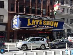Ed Sullivan Theater (John A. Montgomery) Tags: nyc ed sullivan theater lateshow davidletterman