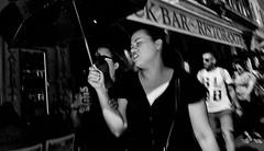 Feel the pain!! (Baz 120) Tags: candid candidstreet candidportrait city candidface candidphotography contrast street streetphoto streetphotography streetcandid streetportrait strangers sony a7 rome roma europe women monochrome monotone mono noiretblanc bw blackandwhite urban life primelens portrait people pentax20mm28 italy italia grittystreetphotography flashstreetphotography faces decisivemoment