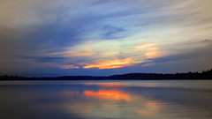 Like 'Rock' 'Scissors' 'Paper' - Clouds beat Sun (Bob's Digital Eye) Tags: bobsdigitaleye canon clouds efs24mmf28stm glow glowing laquintaessenza lake lakesunset lakesunsets outdoor reflection sep2018 skies sky sun sunset sunsetsoverwater t3i water flickr flicker pastels