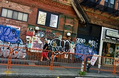 """Barricades & Broom - NYC • <a style=""""font-size:0.8em;"""" href=""""http://www.flickr.com/photos/7243324@N03/43564901235/"""" target=""""_blank"""">View on Flickr</a>"""