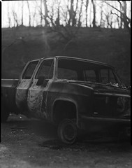 Carr fire aftermath on 4x5 film (Garrett Meyers) Tags: rbgraflex4x5 garrett meyers garrettmeyers largeformat 4x5film graflex graflex4x5 4x5 lf blackandwhitefilm homedeveloped northerncalifornia reddingphotographer film filmphotographer carrfire redding 2018 burned forest fire wildfire telegraflex