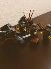 WW1 German Artillery crew (thelameguitarist) Tags: ww1 german artillery british french feldkanone field gun lego