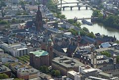 Frankfurt, Aussicht vom Main Tower (view from the Main Tower) (HEN-Magonza) Tags: frankfurt frankfurtammain hessen hesse deutschland germany main neuemainzerstrase maintower panorama panoramicview