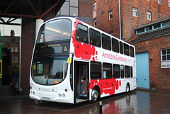 718 - Armistice Anniversary (Hesterjenna Photography) Tags: yx07hke bus psv coach eclipse eyms eastyorkshire eastyorkshiremotorservices gemini wright wrightbus wrightcoachbuilders armistice volvo b9tl