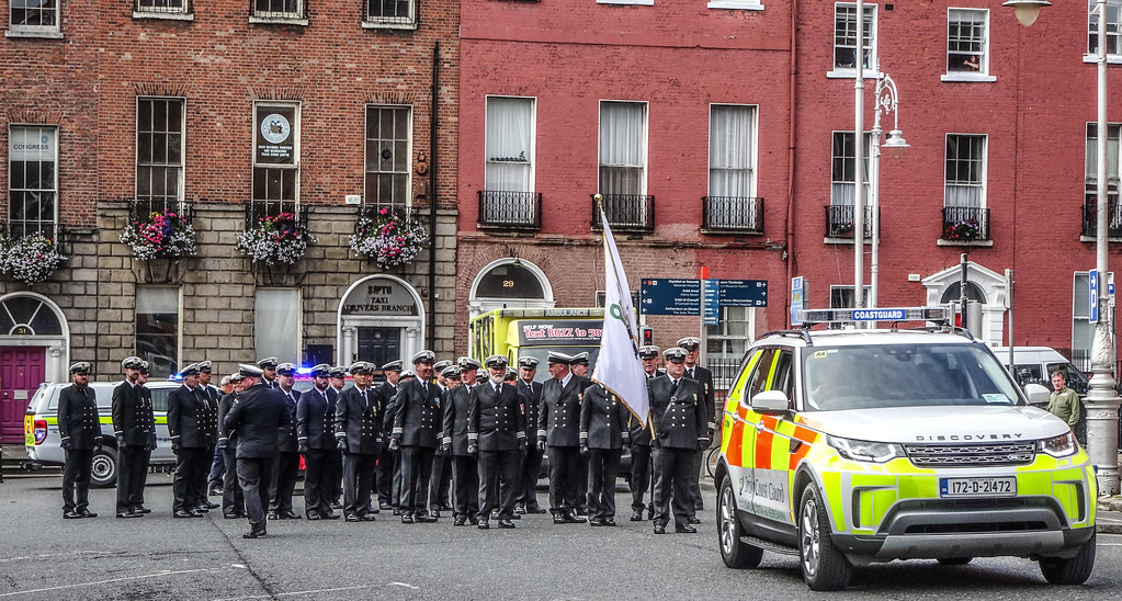 NATIONAL SERVICES DAY [PARADE STARTED OFF FROM NORTH PARNELL SQUARE]-143573
