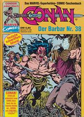 Conan - Comic-Taschenbuch #38 (micky the pixel) Tags: comics comic taschenbuch paperback swordandsorcery marvel condorcomics conanthebarbarian conan garyhartle mikedecarlo