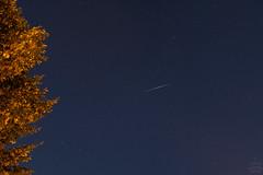 Flare of Iridium 59 / @ 18 mm / 2018-08-21 (astrofreak81) Tags: iridiumflare iridium flare 1998019d brightness sun dresden light dark night sky heaven himmel satellite astro astrofreak81 20180821