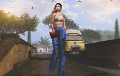 It's time to start living the life you've imagined (BerryGotStyle) Tags: blueberry emery doux lagyo secondlife hair jeans collabor88 c88 euphoric soul2soul