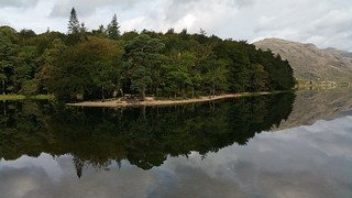 Trees reflected in Wast Water