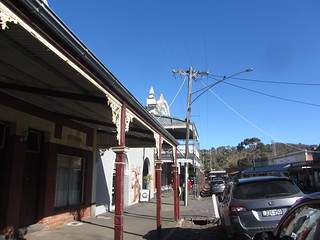 Main St., Maldon (Including Maldon Hotel 1909 and former Bank of Victoria 1860)