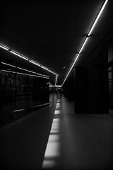 En voie... (Solène.CB) Tags: tatemodern london londres bw nb black noir white blanc lines lignes shadows ombres way voie solènecb canoneos70d