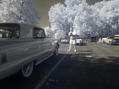 IR at the car show 2/4 (Thiophene_Guy) Tags: thiopheneguy originalworks olympusxz1 xz1 infrared r72 hoyar72infraredfilter nearinfrared utatasweekendproject