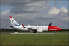 LN-NIG Boeing 737-8JP(W) Norwegian Air Shuttle (elevationair ✈) Tags: dublin airport dublinairport dub eidw avgeek aviation airplane aircraft plane arrival landing norwegian norwegianairshuttle norshuttle boeing 737 boeing7378jpw lnnig 738