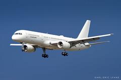 02-5001 - USAF C-32   RMS (Karl-Eric Lenne) Tags: 025001 ramstein rms etar c32b boeing 757 afb landing avgeek runway germany airport military
