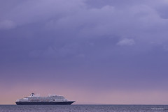 Heading out to sea (jonny.andrews65) Tags: orlock ship sunset sea boat nikon d7200 200500 vr donaghadee countydown northernireland