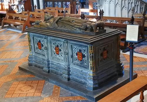 King John's tomb