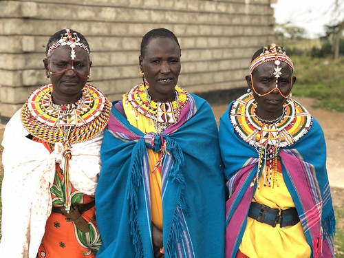 Traditional Samburu dress