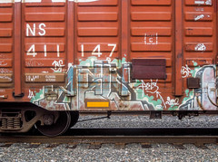 (gordon gekkoh) Tags: aels tsf freight graffiti