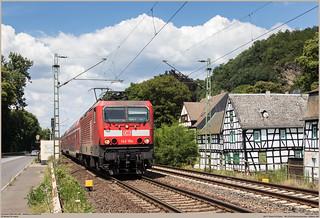 DBAG 143 194-9 @ Ariendorf