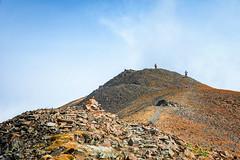 Ascending Avalanche Peak (KPortin) Tags: avalanchepeak mountain peak hikers trail yellowstonenationalpark hiking