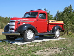 1940 Chevrolet Pickup Truck (Gerald (Wayne) Prout) Tags: 1940chevroletpickuptruck 1940 chevrolet pickup truck highway101west blackrivermatheson taylortownship northeasternontario northernontario ontario canada prout geraldwayneprout canon canonpowershotsx60hs powershot sx60 hs digital camera photographed photography display property generalmotors gm vehicle antique historical old refurbished highway 101 west blackriver matheson taylor township northeastern northern elmercook anthony