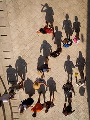 Schatten-Wimmelbild (Werner Schnell Images (2.stream)) Tags: ws schatten wimmelbild shadows dubrovnik kroatien
