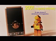 2001: A Space Odyssey... LEGO-ized (jgg3210) Tags: lego moc minifigure space astronaut hal 9000 film movie classic scifi science fiction stanley kubrick 2001 odyssey dave