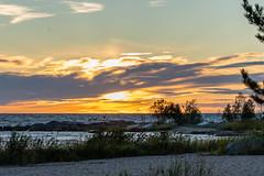 Autiumn evening (Lena_CS) Tags: finland autumn sea sky sunset seascape landscape