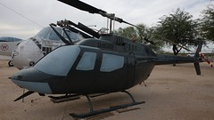 Bell 206A-1 OH-58A Kiowa 69-16112 in Tucson (J.Comstedt) Tags: aircraft flight aviation air aeroplane museum airplane us usa planes pima space tucson az helicopter bell 206 oh58 kiowa usaf 6916112