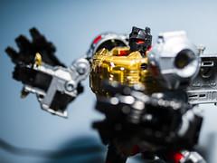 lookin' grim 001 (adamlucienroy) Tags: panasonic g9 lumixg9 lumix primelens f17 grimlock transformers bozo cartoon portrait toy model