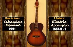 Takamine Jasmine 1990 Model #TS54M-1 , Electric Accoustic (> Pinoy) Tags: takamineguitar jasmine 1991 year modelts54m1 takaminets54m1 electric acoustic accoustic jasminets54m1 madeinkorea guitar guitars raretakamine rare ts54m1 treadtravels